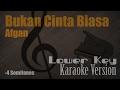 Afgan Bukan Cinta Biasa Karaoke Version Ayjeeme Karaoke