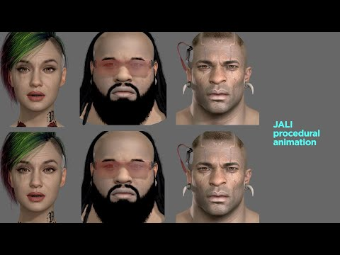 JALI Driven Expressive Facial Animation & Multilingual Speech in CYBERPUNK 2077 with CDPR de Cyberpunk 2077