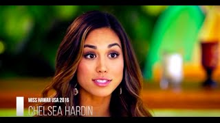Chelsea Hardin Miss USA 2016 First Runner Up Introduction