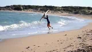 Kiteboarding Tarifa - This is the Tarifa we found