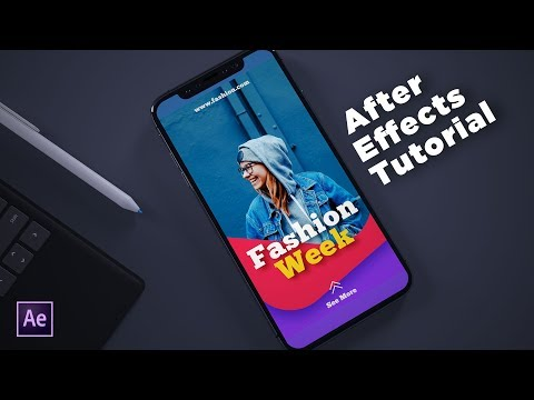After Effects Tutorial – Animate Instagram Stories