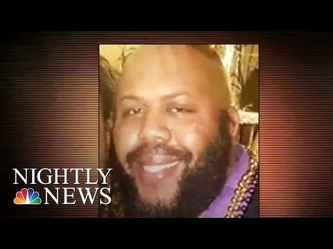 Manhunt For Cleveland Man Who Broadcast Murder On Facebook Live | NBC Nightly News