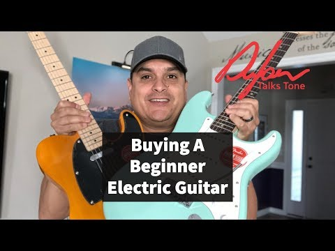 How To Buy A Beginner Electric Guitar