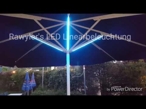 LED Sonnenschirm Beleuchtung Rawyler`s