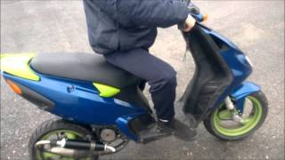piaggio nrg 50cc top speed 100km/h - movieandvideo