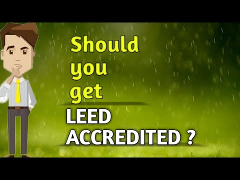 Is Getting LEED Credentials Worth it ?? - YouTube