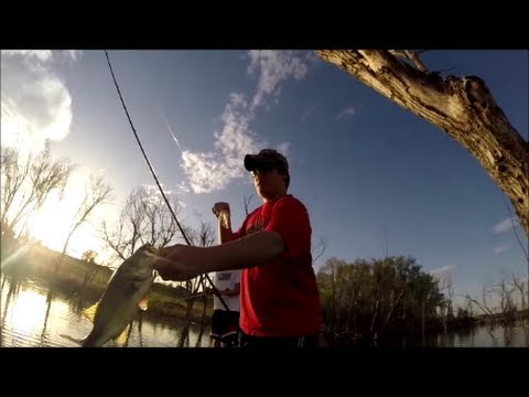GoPro Bass Fishing NuTech Lures Montage (Jig, Crazy Jig, Spinnerbait)