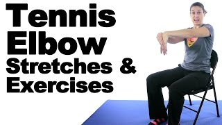Tennis Elbow Stretches & Exercises - Ask Doctor Jo