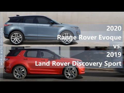 Land Rover Discovery Sport Внедорожник класса J - тест-драйв 6