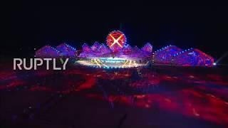 Live: Opening ceremony of third World Nomad Games kicks off (muted)