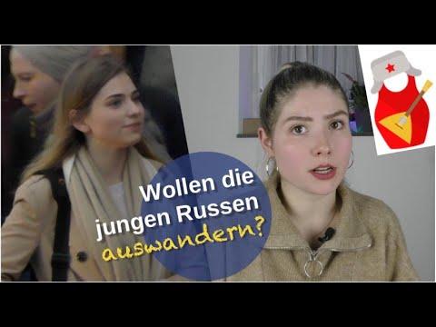 Wollen die jungen Russen auswandern? [Video]