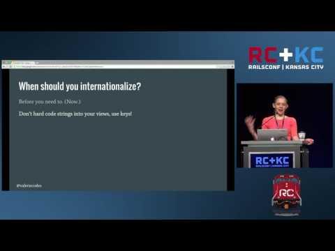 RailsConf 2016 - Finding Translations: Localization and Internationalization by Valerie Woolard