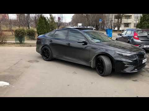 KIA optima GT & RAVIZA wheels