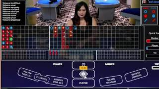 LIVE Baccarat Card Counting 11-29-16