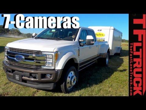 2017 Ford Super Duty 360-degree Camera & Trailer Backup Guidance Tech Demo