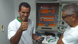 Aula prática do curso comandos elétricos