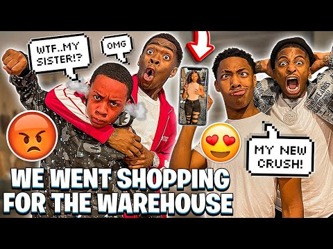 Download JAY GOT A CRUSH ON TYLER SISTER & WE WENT SHOPPING FOR WAREHOUSE! HD Mp4 3GP Video and MP3