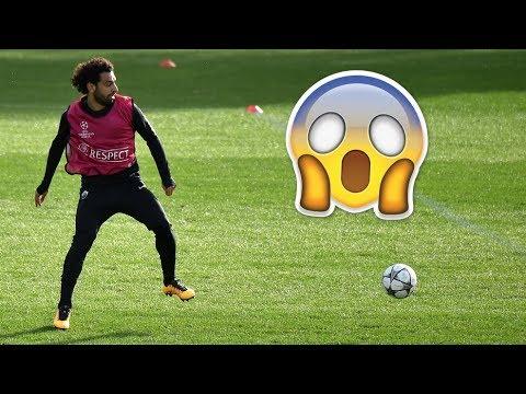 Mohamed Salah  stunning goal in Marbella training HD