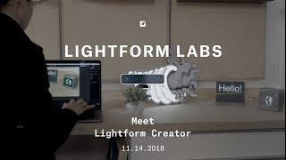 Sneak Peak: Lightform Creator Software Walk Through