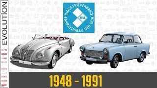 W.C.E - IFA Evolution (1948 - 1991)