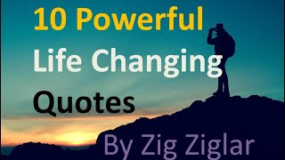 10 Best Quotes About Life And Success By Zig Ziglar In English| Inspirational And Motivational 2021.