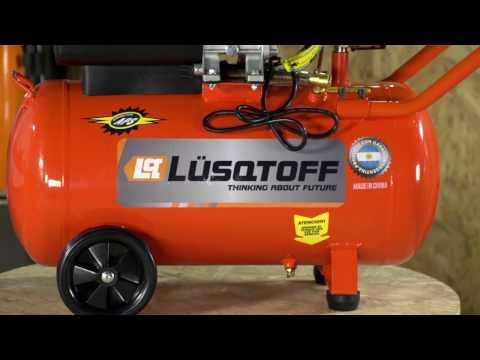 Tutorial de uso Compresor LC-2550 Lusqtoff