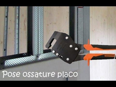 comment poser rail placo sous pente la r ponse est sur. Black Bedroom Furniture Sets. Home Design Ideas