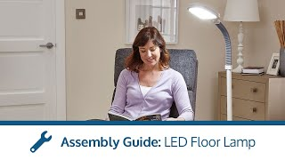 LED Floor Lamp assembly video