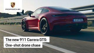 The new 911 Carrera GTS: Drone POV