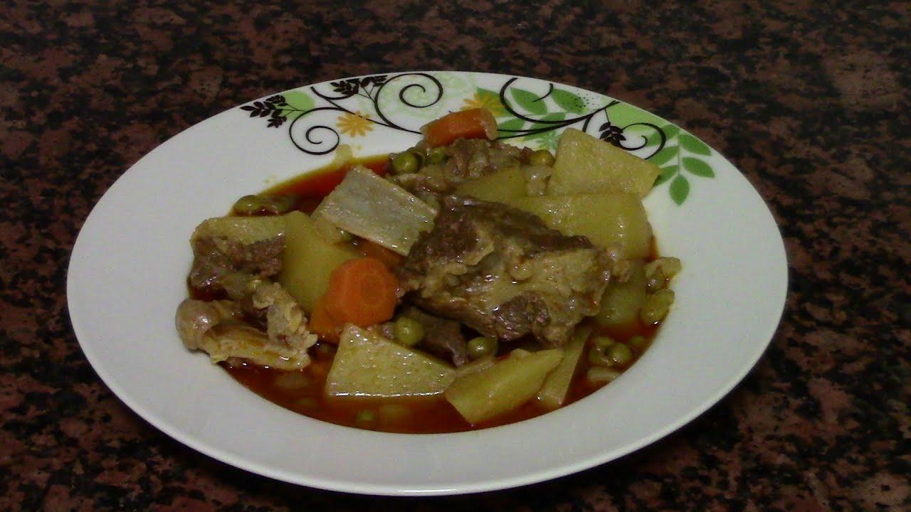 ESTOFADO DE COSTILLAS DE CORDERO | recetas de cocina faciles rapidas y economicas de hacer - comidas