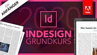 Adobe InDesign 2020 (Grundkurs Für Anfänger) Deutsch (Tutorial)