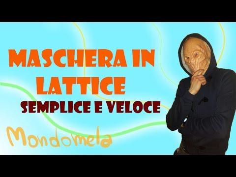 Maschera in lattice facile e veloce | tutorial