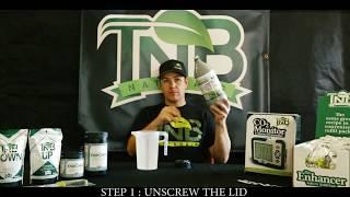 TNB Naturals CO2 Enhancer Refill Instructions