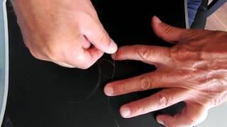 Леска в ловле на дроп шот