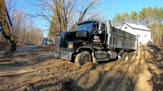 I Buried My Dump Truck in Septic Sand