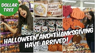 COME WITH ME TO DOLLAR TREE 2018 HALLOWEEN AND FALL DECOR