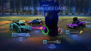 The Worst Rocket League Gameplay Ever
