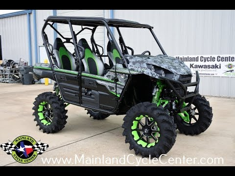2018 Kawasaki Teryx4 LE Camo in La Marque, Texas - Video 1
