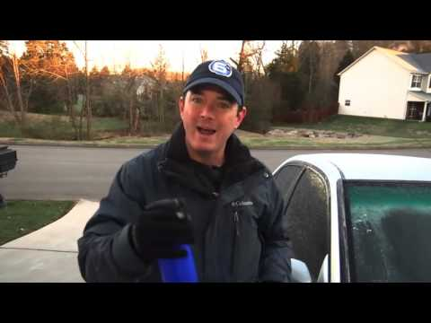How to defrost your windshield quickly