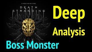 Gold Mask Creature: Death Stranding Analysis