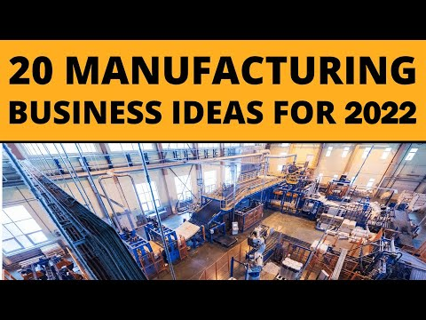 , title : '20 Manufacturing Business Ideas for Starting a Business in 2021