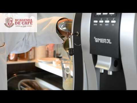 Máquina de espresso Merol - Academia de Café - Grupo la Fuente