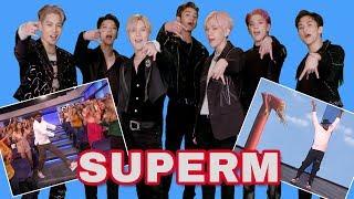 SuperM Recreates Ellen's Favorite tWitch Dance Moves