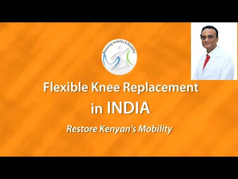 Successful Double Knee Replacement surgery in India
