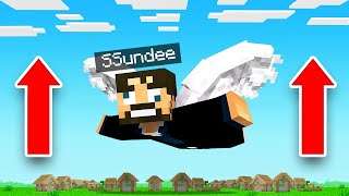 LEARNING To FLY in INSANE CRAFT (Minecraft)