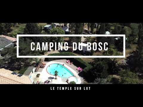 Vue du Camping du Bosc