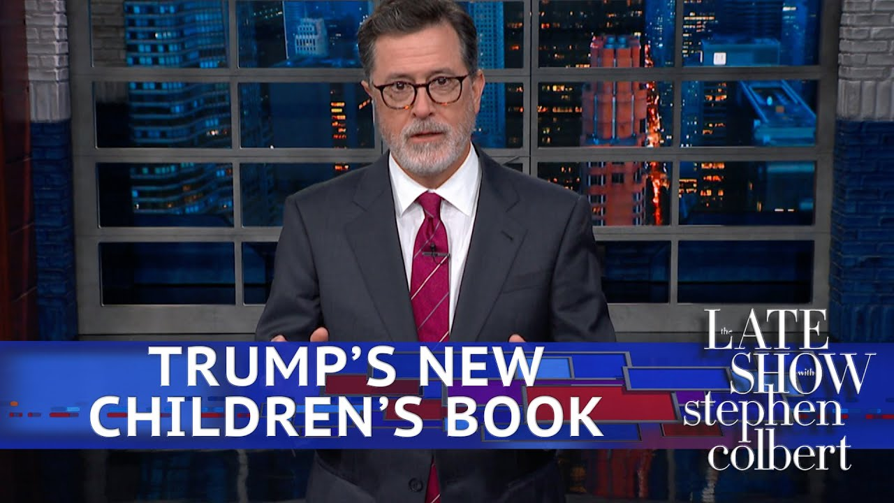 Stephen Made Trump's Hurricane Response Into A Children's Book thumbnail