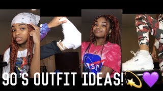 •| 90s THEMED OUTFIT IDEAS|•