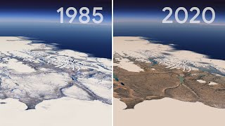 video: Watch: Google and Nasa release amazing timelapse of how Planet Earth has changed over 30 years
