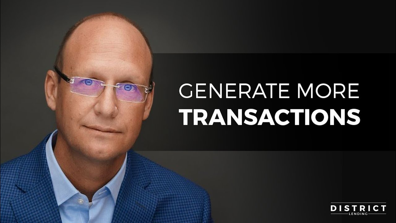 Generate More Transactions